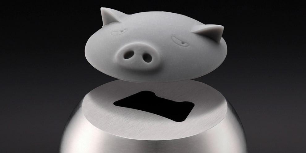 Открывалка для бутылок Circle Joy Piggy Bottle Opener (CJ-KP01)